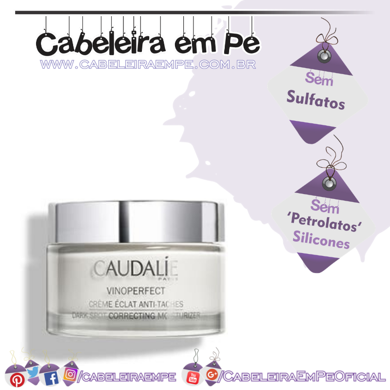 Creme Hidratante Antimanchas Vinoperfect - Caudalie