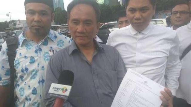Andi Arief Nangis Lihat Syahganda, Jumhur Dkk Dipertontonkan Kayak Teror*s