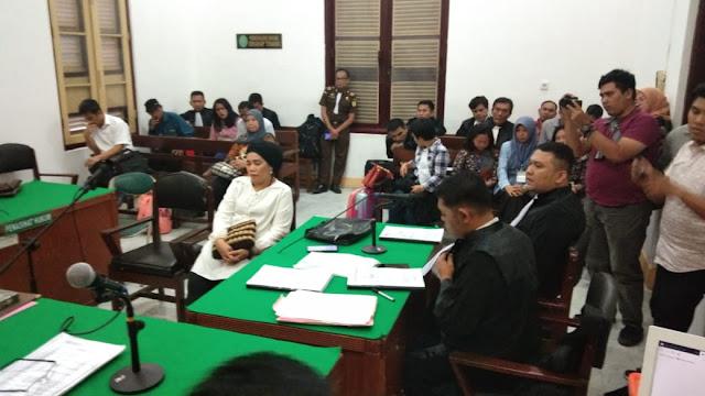Korupsi Pengadaan Kapal Wisata di Dairi, Nora Butarbutar Dituntut 7 Tahun Penjara