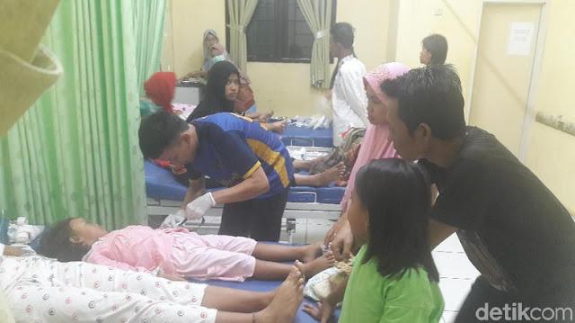 Puluhan Orang Diduga Keracunan Tutut