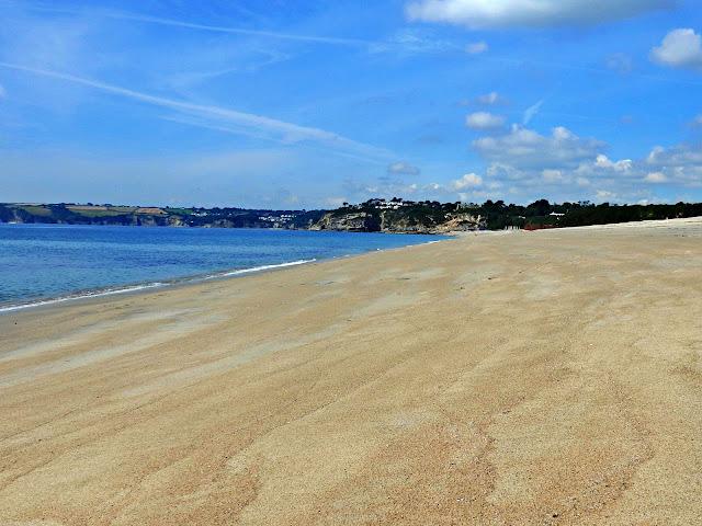 Carlyon Bay beach, Cornwall
