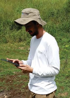 DIGEOQ inicia a aquisição dos dados de campo utilizando tablets