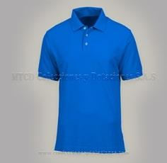 Camisa polo personalizada azul rey