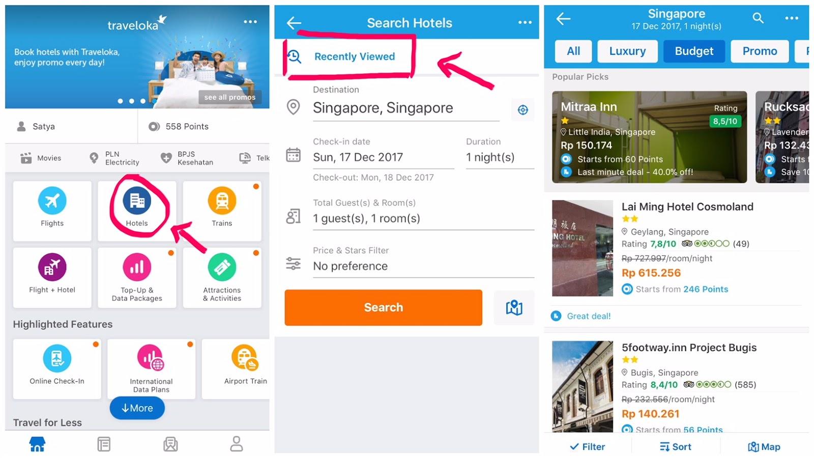 Jadi kita akan selalu update harga terbaru dari hotel-hotel yang kita pilih. 87ed24ede9