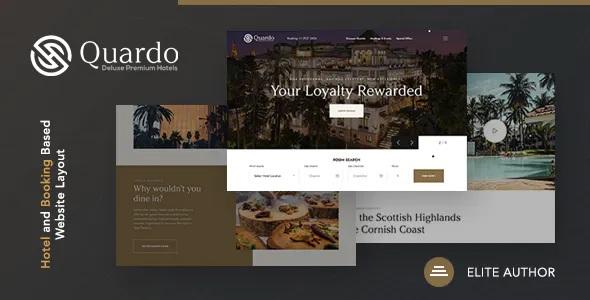 Best Deluxe Premium Hotels HTML Template