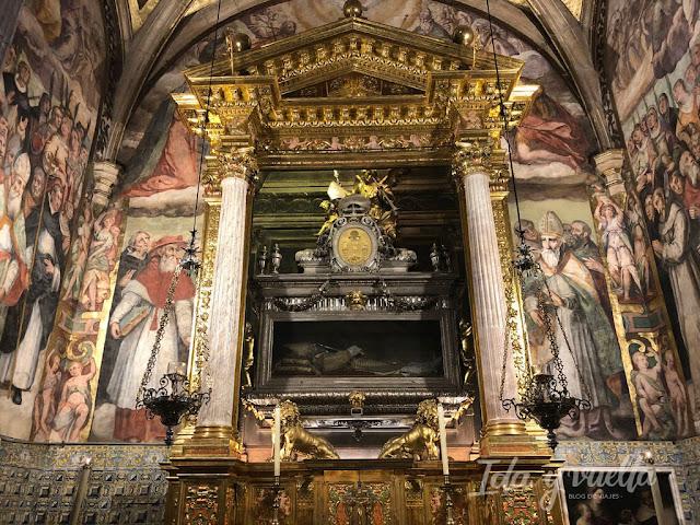 El Patriarca Valencia capilla con tumba de San Juan de Ribera