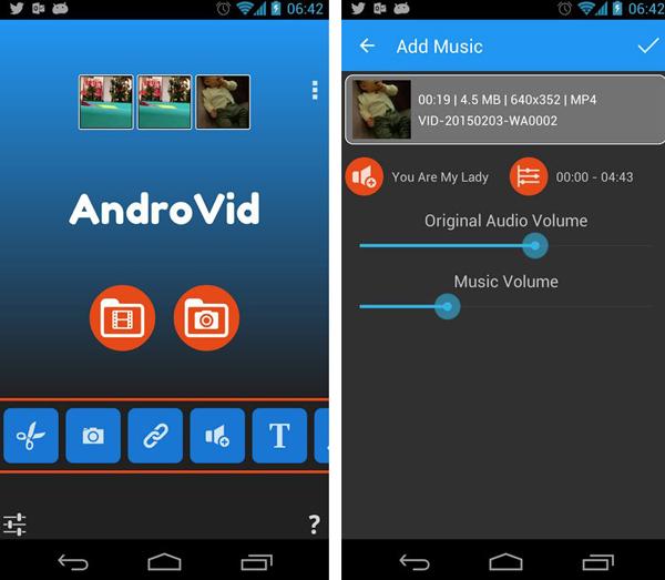 AndroVid Pro Video Editor Free