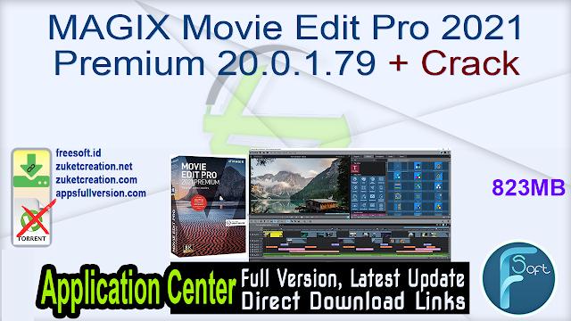 MAGIX Movie Edit Pro 2021 Premium 20.0.1.79 + Crack