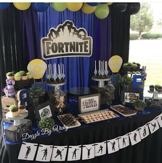 24 ideas para Fiesta de Cumpleaños Fortnite 13