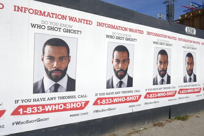 Power Who shot Ghost street posters