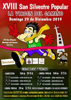 San Silvestre La Virgen del Camino 2019