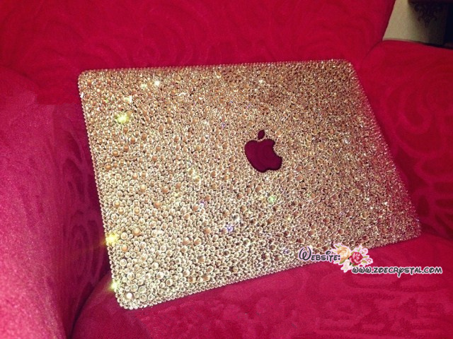 brand new 37163 8d652 Bling and Stylish MACBOOK Pro / Air / Retina White Crystal 11inch or ...