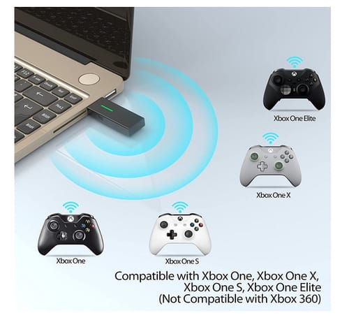 Dmere Wireless Adapter for Xbox One