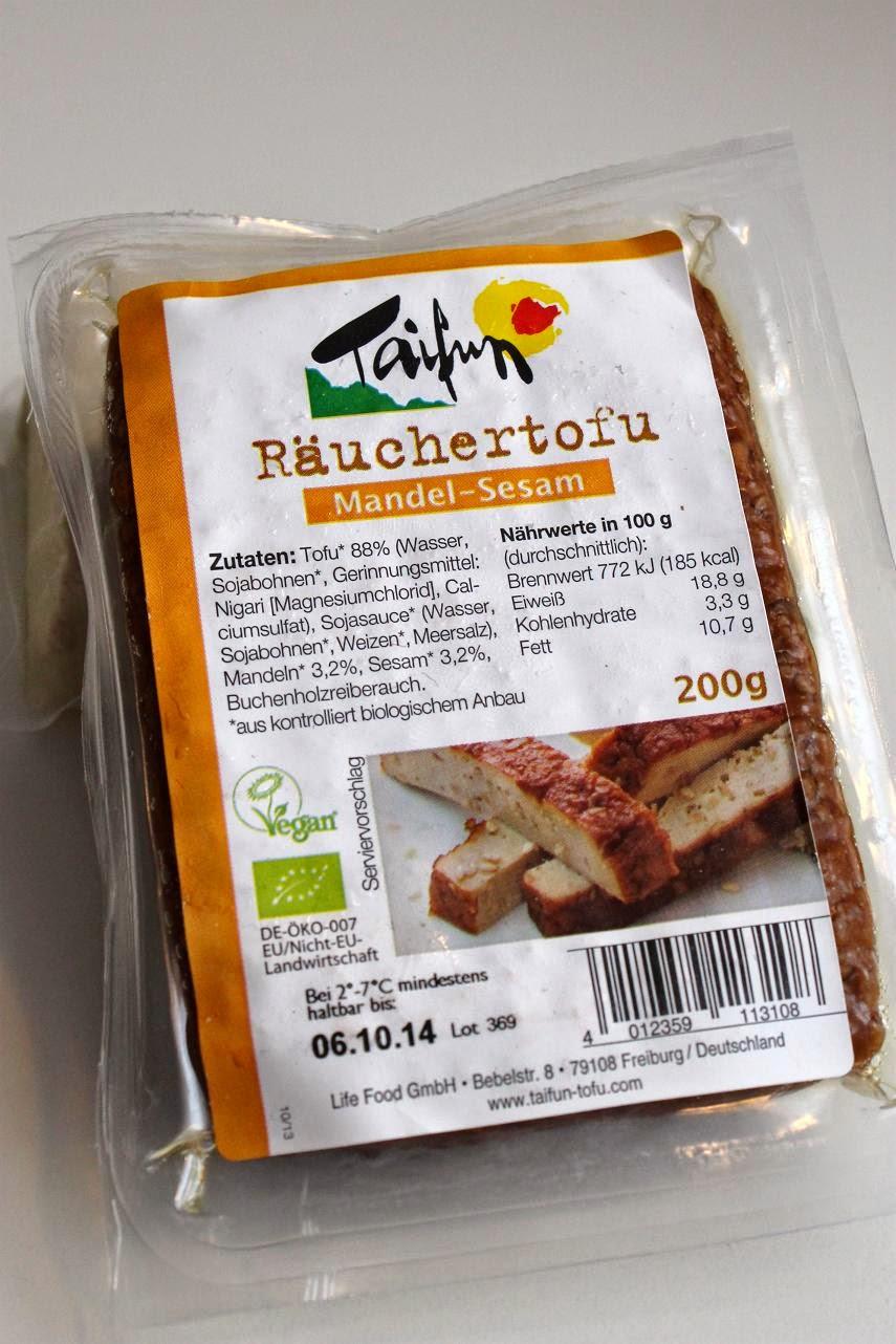 Mandel-Sesam Tofu