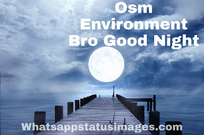 Osm Environment Bro Good Night Photo