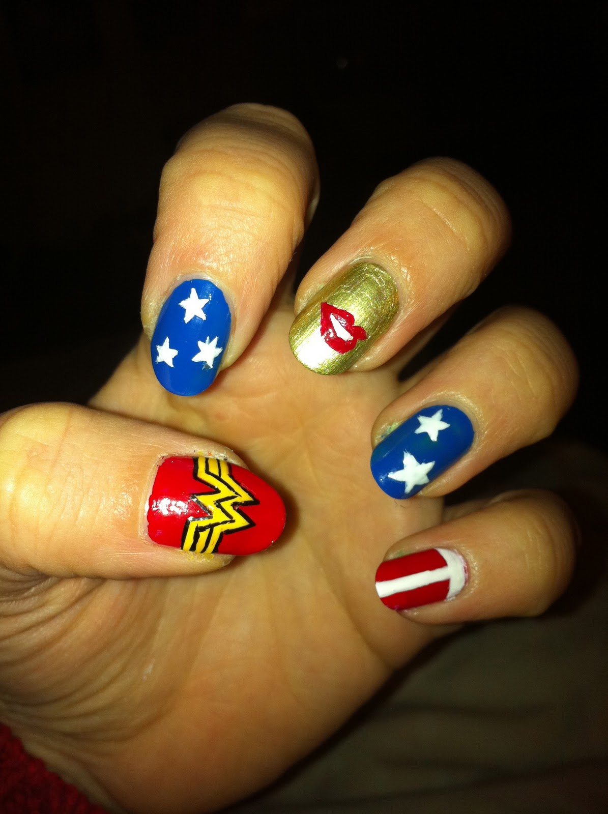 Wizard Of Nails: Wonder Woman