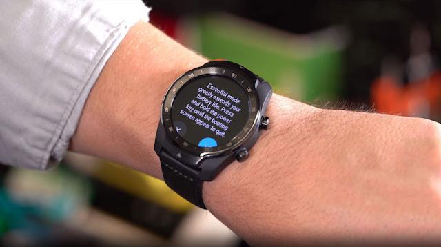 Đánh giá Smartwatch Ticwatch Pro