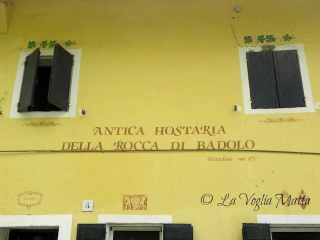 Antica Hostaria Della Rocca di Badolo   Sasso Marconi (BO)