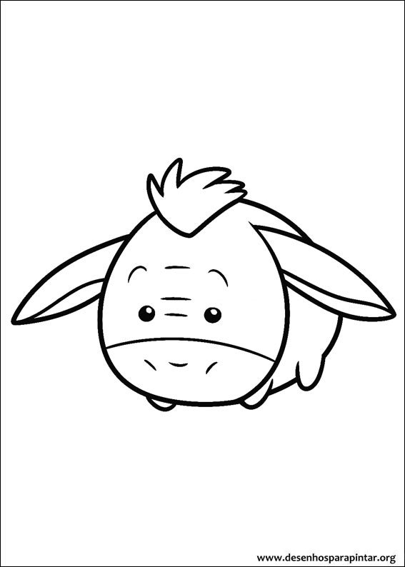 Coloring Pages For Kids Free Images Disney Tsum Tsum Free