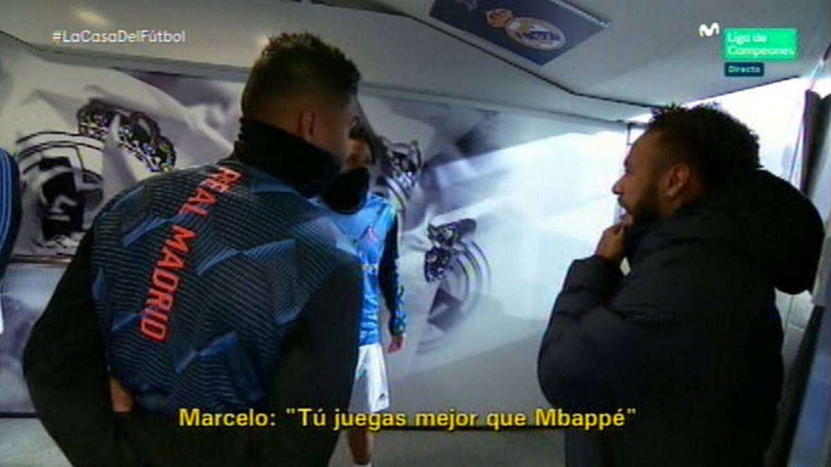 Marcelo for Neymar: I played better than Mbappe