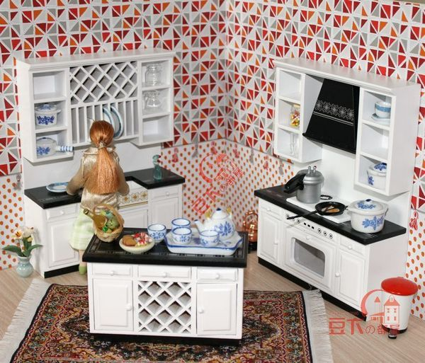 Miniature Dollhouse Kitchen Furniture Home Furniture Design Ideas