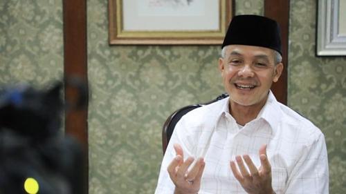 Survei Capres Charta Politika, Elektabilitas Ganjar Pranowo Teratas, Disusul Anies dan Prabowo