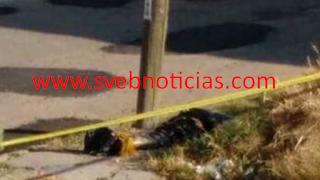 Hallan cuerpo embolsado con narco-mensaje este sabado en Leon Guanajuato