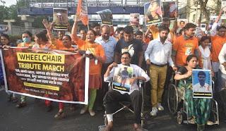 bjp-wheel-chair-rally-bangal