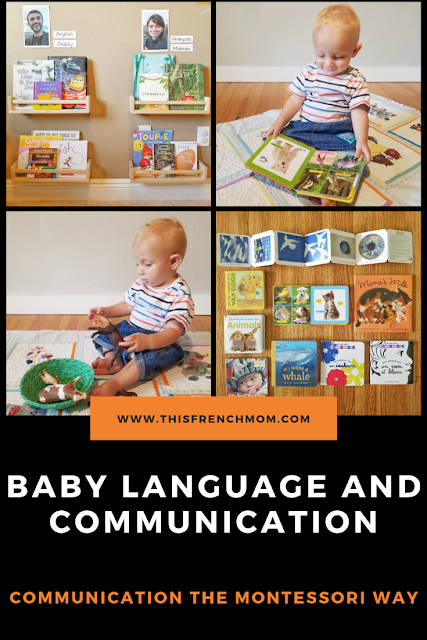 Baby communication and language the Montessori way.