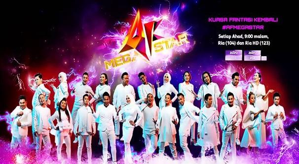 Live Streaming Konsert Akademi Fantasia Megastar 2017 Minggu 3