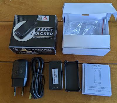 AT2 mini gps tracker kelengkapan