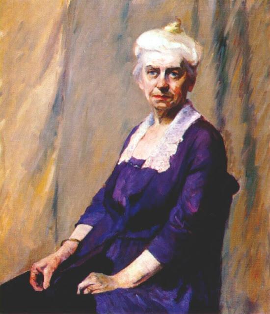 Edward Hopper, Elizabeth Griffiths Smith Hopper, the artist's mother, 1916