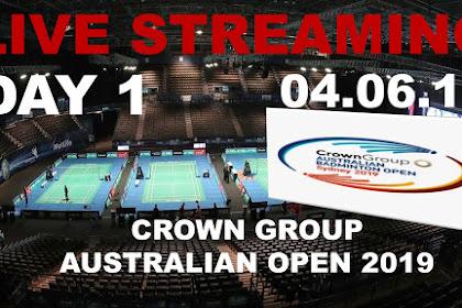 Badminton Live Streaming AUSTRALIAN OPEN 2019 #Day 1