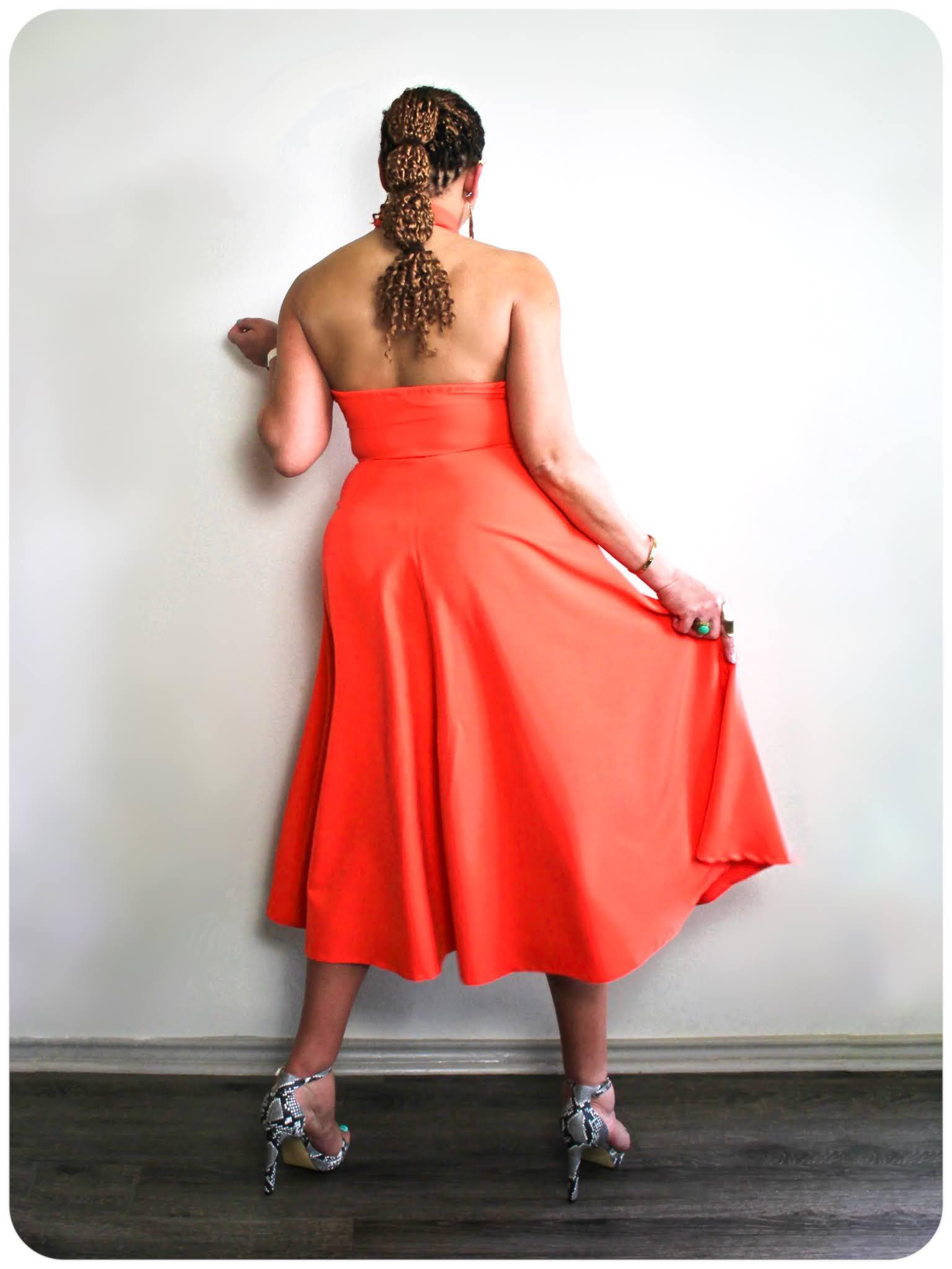 Burda 7065 -- Erica Bunker DIY Style x Zelouf Fabrics