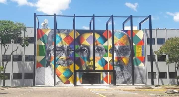 Mural do Eduardo Kobra em Lajeado