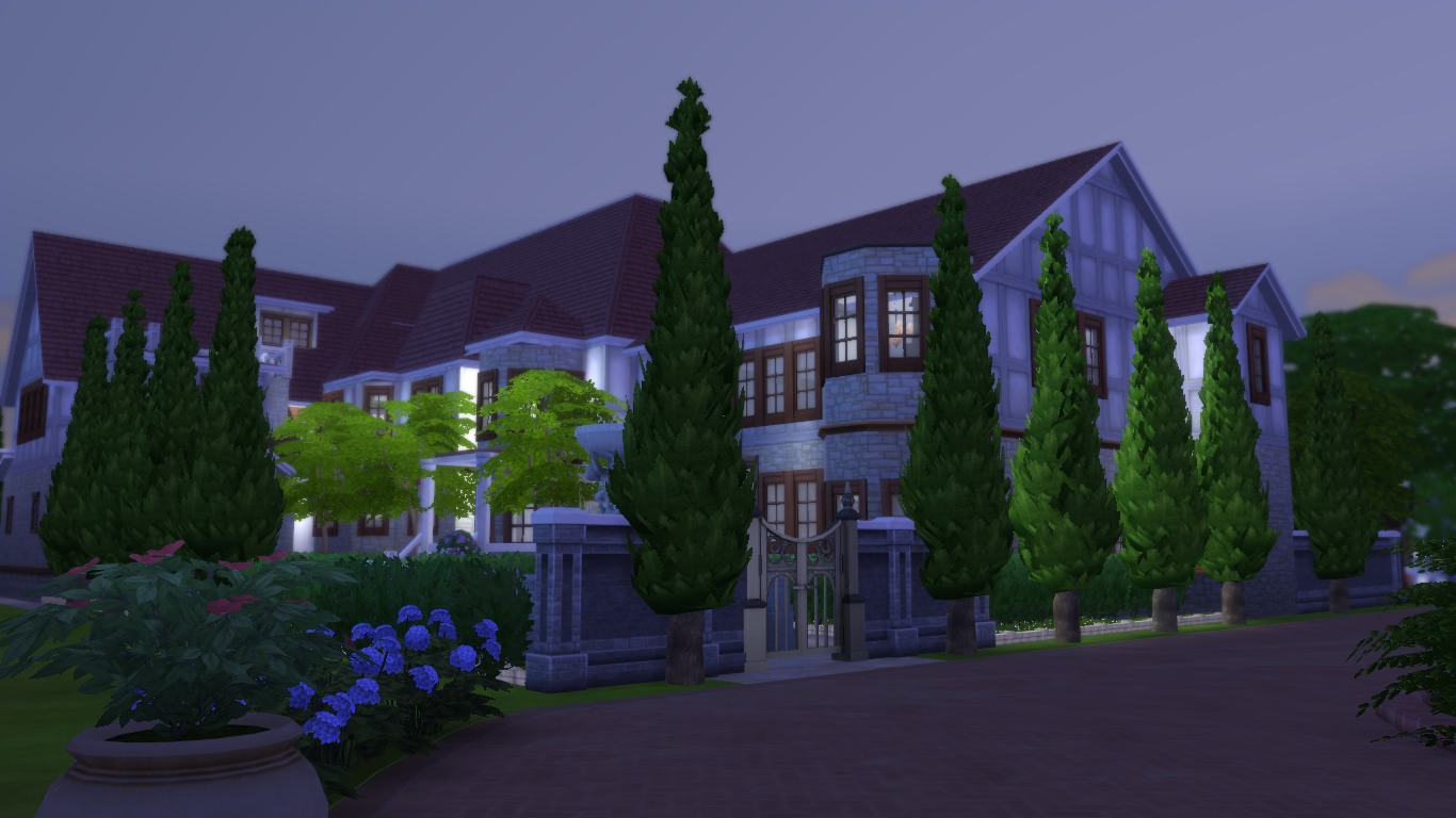 Sutta sims4 clothes child willow creek lot 3 for Willow creek mansion