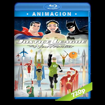 Liga De La Justicia La Nueva Frontera (2008) BRRip 720p Audio Trial Latino-Castellano-Ingles 5.1