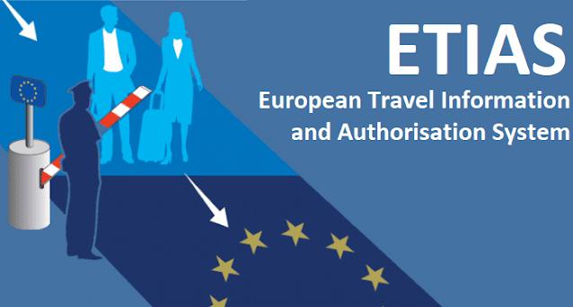 إبتدءاً من 2022 نظام الدخول إلى منطقة الشنغن للدول المعفاة من تأشيرة الشنغن ETIAS