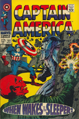 Captain America #101, the Sleeper