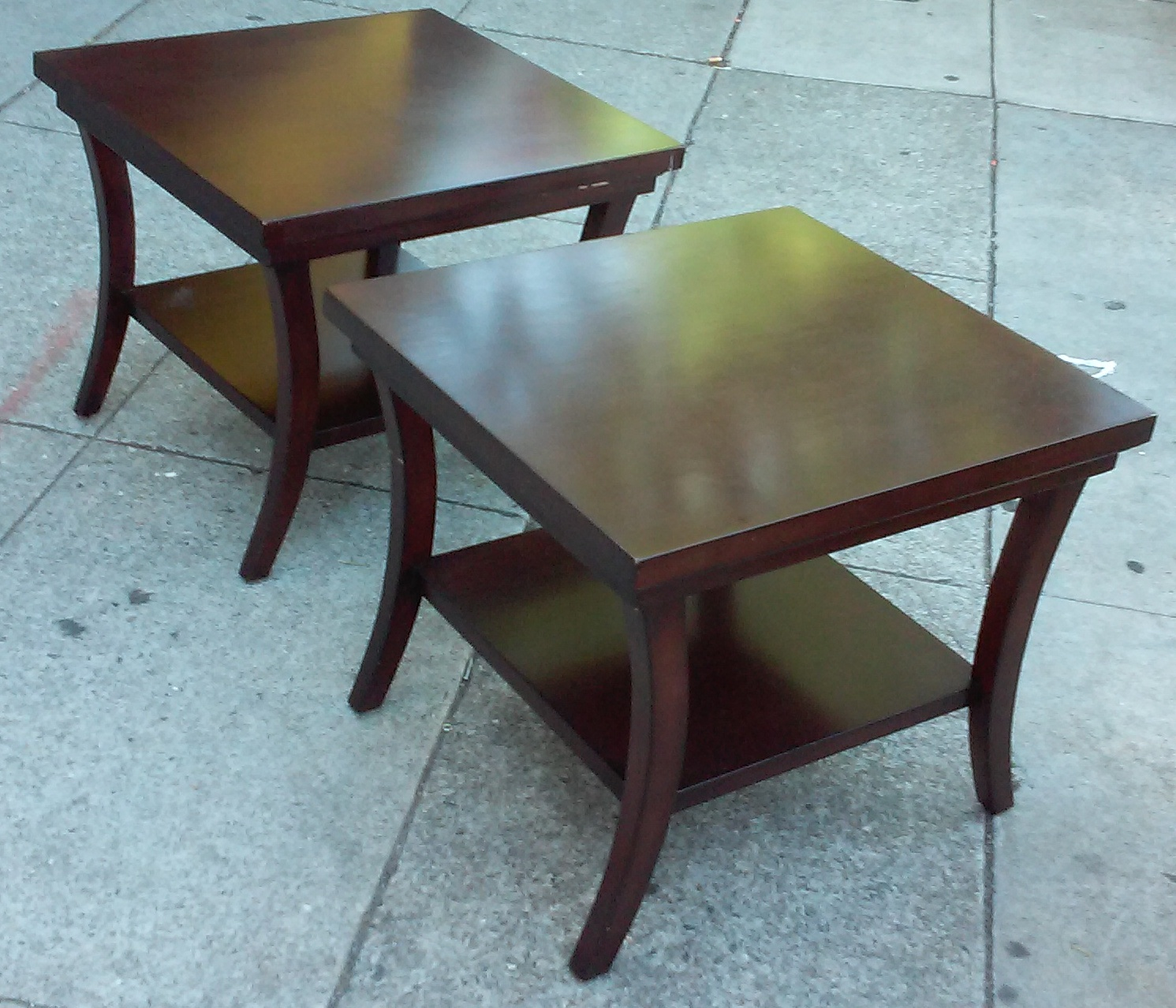 Uhuru furniture collectibles sold bargain buy 2239 for 10 wide end table