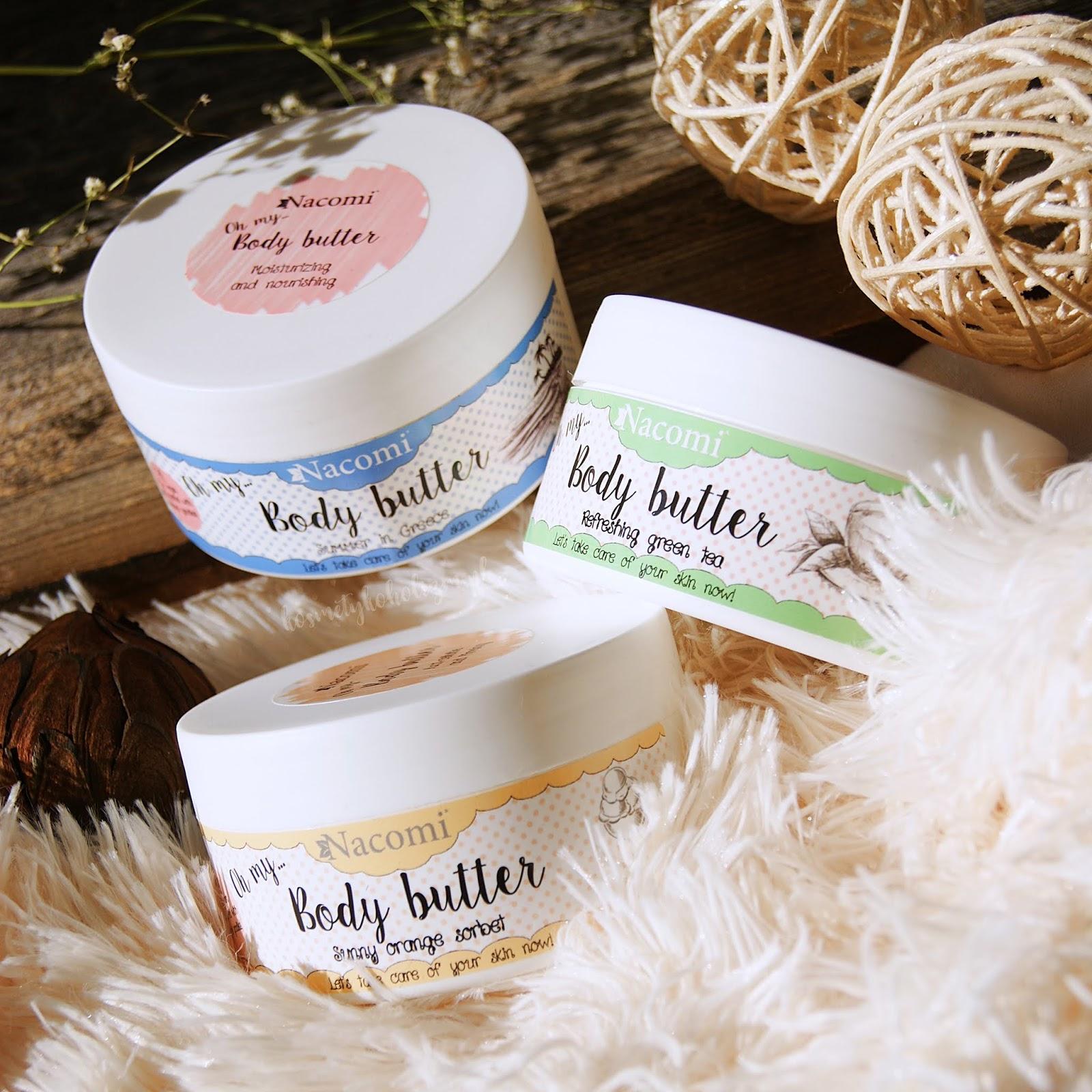 Nacomi | Masła do masażu | Dlaczego masło jest lepsze od oleju