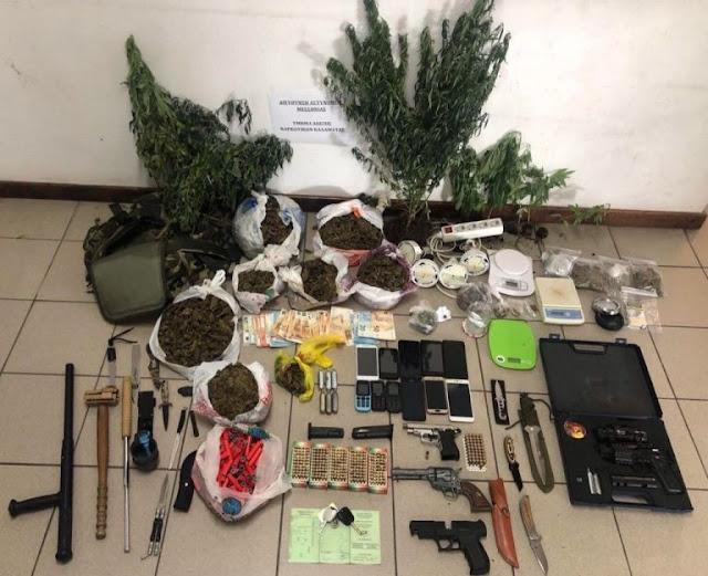 «Ξηλώθηκε» εγκληματικό οργάνωση στην Πελοπόννησο - Συνελήφθησαν 10 άτομα