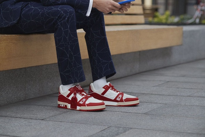 Louis Vuitton I RED AIDS Sneakers