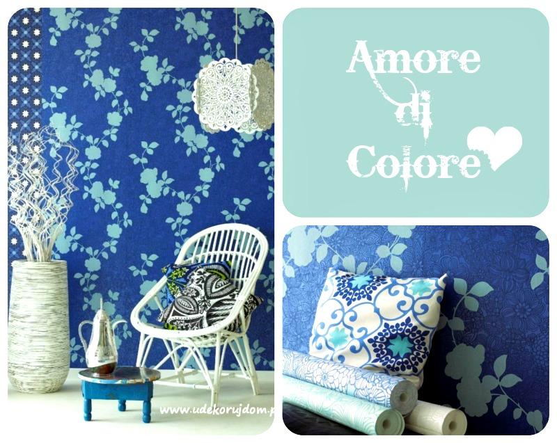 tapety z kolekcji Amore di Colore