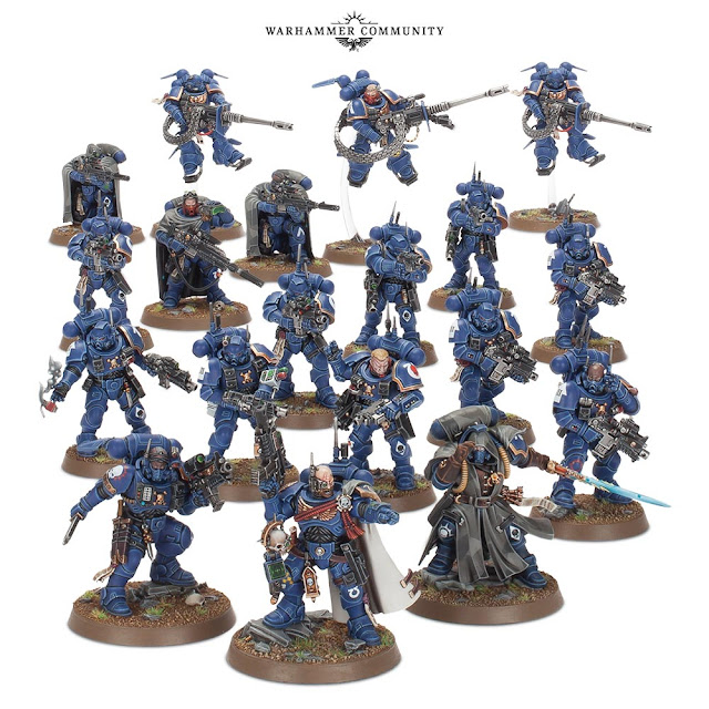 Vanguard Space Marines