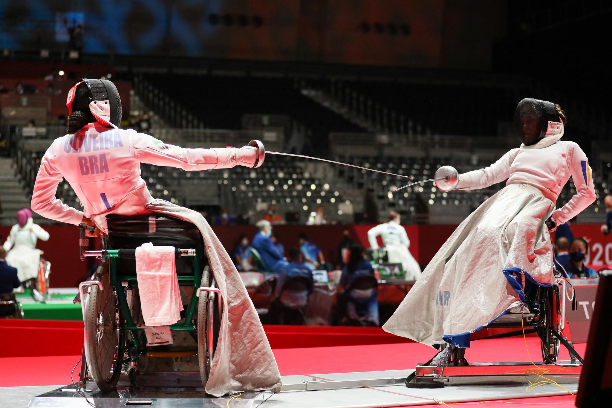 Carminha Oliveira disputa Jogos Paralímpicos