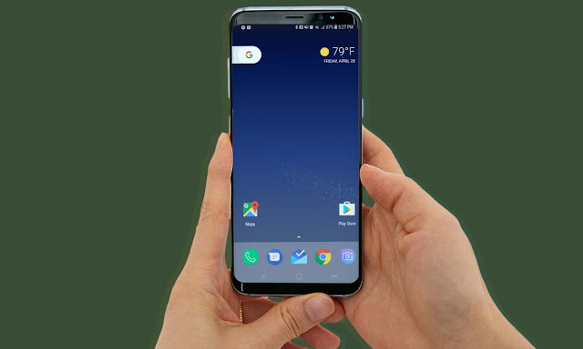 Tampilan Launcher Galaxy S8