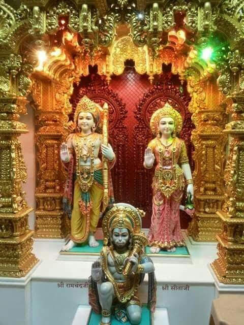 images of lord rama sita and hanuman hd good morning