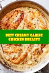 #Creamy #Garlic #Chicken #Breasts