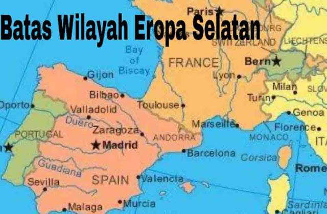 Batas Wilayah Eropa Selatan